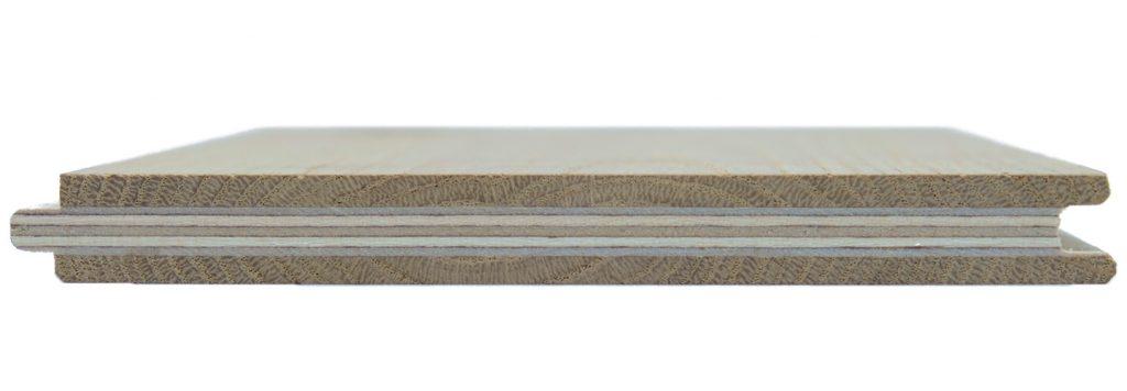 parquet tre strati controbilanciato base betulla rovere flottante